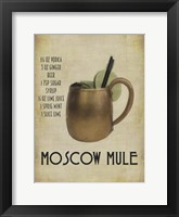 Moscow Mule Framed Print