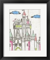 Sketch Castle II Framed Print
