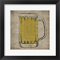Framed Dictionary Beer