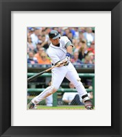 Framed Miguel Cabrera 2015 Action