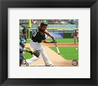 Framed Jose Abreu 2015 Action
