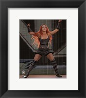 Framed Becky Lynch 2014 Posed