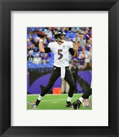 Framed Joe Flacco 2015 Action