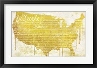 American Dream II Framed Print