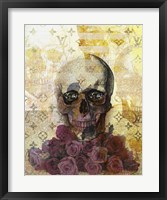 Framed Skulls And Diamonds