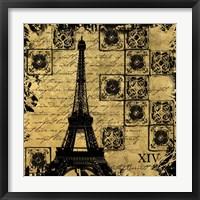 Framed B&G Tour Eiffel