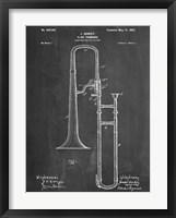 Framed Slide Trombone
