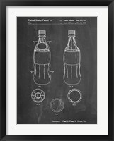 Framed Soda Bottle