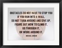 Framed Obstacles