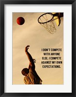 Framed Compete With What You're Capable Of