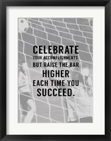 Framed Celebrate What You've Accomplished