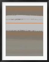 Abstract Orange 4 Framed Print