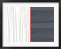 Framed White And Gray