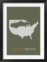 Russian America Framed Print