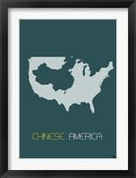 Chinese America Framed Print