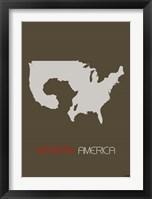 African America Framed Print