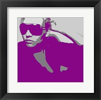 Niki In Glasses Framed Print