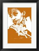 Aisha Brown Framed Print