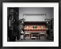 Framed Shrine In Tokyo