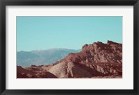 Framed Death Valley Mountains