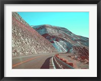Framed Death Valley Road 1