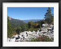 Framed Sierra Nevada Mountains 1