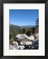 Framed Sierra Nevada Mountains 2