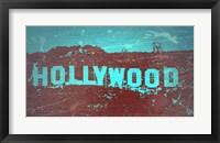 Framed Hollywood Sign