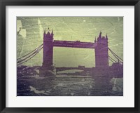 Framed Tower Bridge London