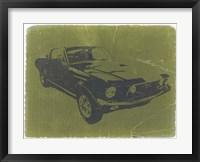 Framed 1968 Ford Mustang