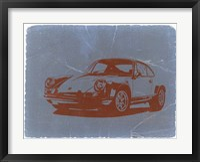 Framed Porsche 911