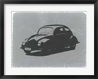 Framed VW Beetle