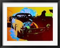 Framed Ferrari Watercolor 1