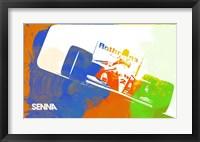 Framed Senna