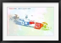 Framed Michael Schumacher