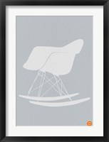 Framed Eames Rocking Chair 1