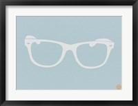 Framed White Glasses