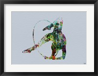 Dancer Watercolor 3 Framed Print
