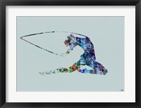 Dancer Watercolor 4 Framed Print