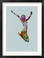 Dancer Watercolor 5 Framed Print