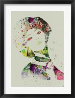 Dancer Watercolor 7 Framed Print