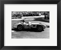 Framed Grand Prix de Monaco 1955