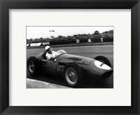 A. Smith - British Grand Prix-Silverstone-'56 Framed Print