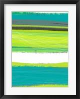 Aquatic Breeze 1 Framed Print