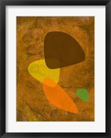 Shapes 1 Framed Print