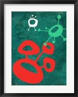Abstract Splash Theme 2 Framed Print