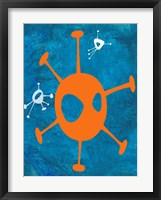 Abstract Splash Theme 17 Framed Print