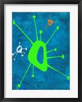 Abstract Splash Theme 18 Framed Print