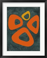 Abstract Oval Shape 2 Framed Print