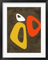 Abstract Oval Shape 3 Framed Print